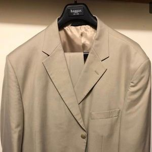 Men's Haggar Tan Suit 52r